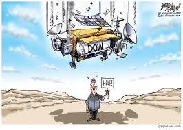 Falling Dow Jones